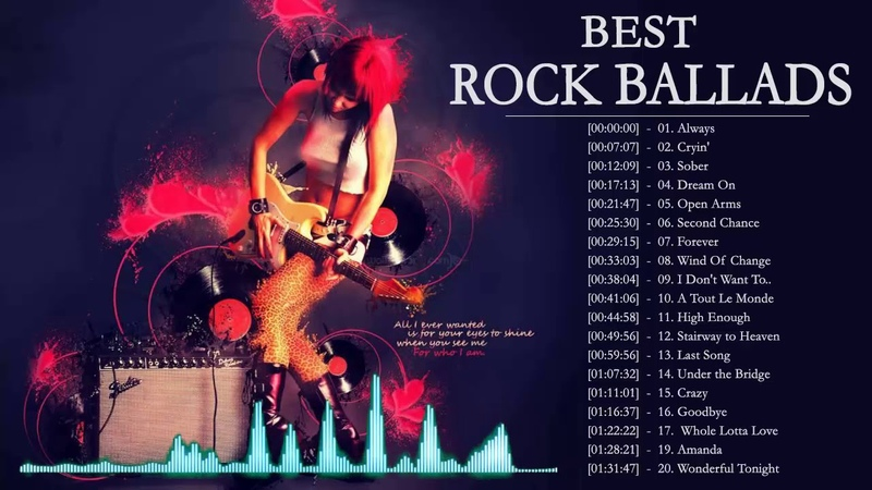 Top 100 Rock Ballads Of All Time ★★ The Greatest Rock Ballads Album