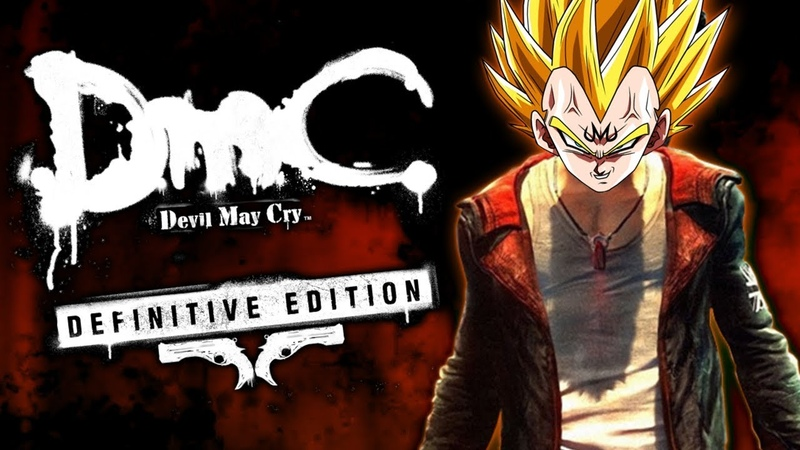 SmC Saiyan May Cry! | Vegeta Plays DmC Devil May Cry | Renegade For Life