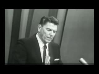 President Ronald Reagan Warning Us About The Obama Administration