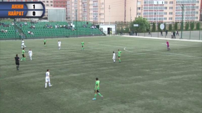 «Caspian Cup». «Анжи» - «Кайрат»