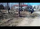 Субботник в Овсище. 14 апреля 2019