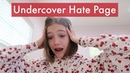 Going Undercover as a Hate Page Jayden Bartels