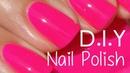 Make your own nail polish? DIY