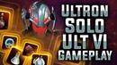Ultron Solo Ult VI Gameplay - MARVEL Strike Force