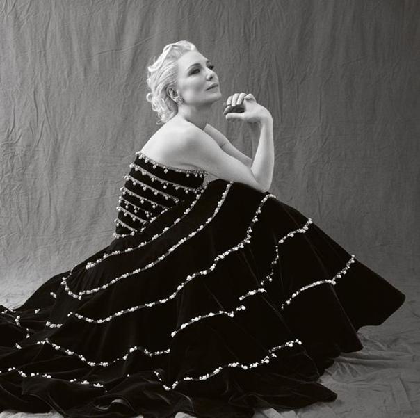 Cate Blanchett Harpers Bazaar U
