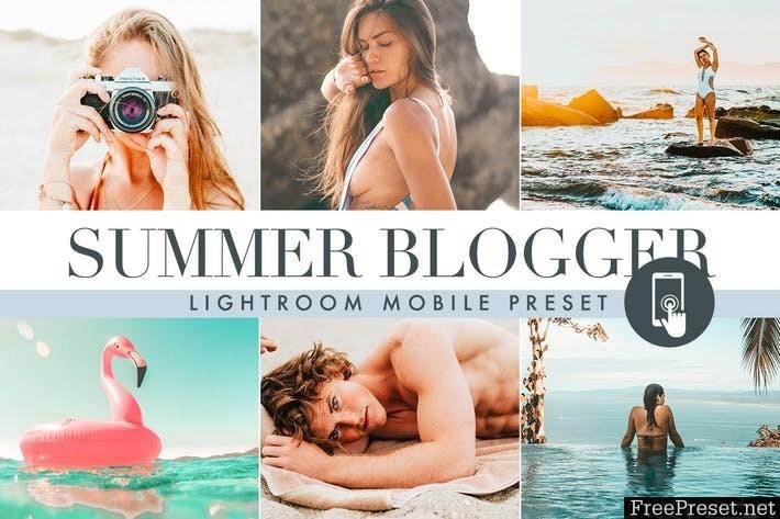 Summer Lightroom Mobile Presets.zip
