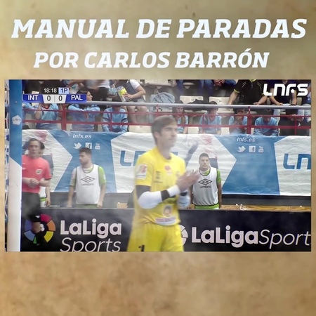 "LNFS on Instagram: ""📖Manual de paradas: @carlosbarron87 .  LNFS FutsalHeart💙 PlayOffLNFS"""