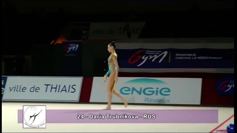 Дарья Трубникова - Булавы АА Этап Гран-при в Тье 2019