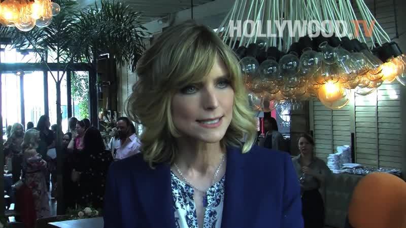 COURTNEY THORNE-SMITH talks BEAUTY, HALLMARK MELROSE - Hollywood TV