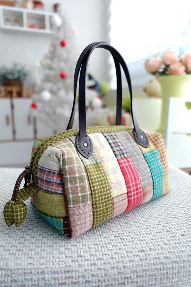 Сшить красивую сумку не сложно, но очень интересно!