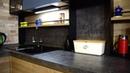 Кухонный гарнитур коллекции Boca Пример интерьера квартиры студии в стиле лофт