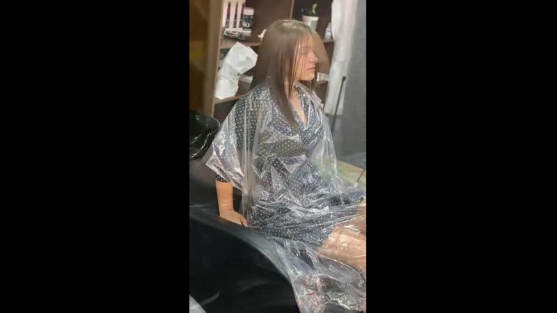Мы хотим познакомить Вас с нашей новой процедурой Современное кератиновое выпрямление волос способствует максимально быстром