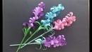 Kağıttan Lavanta Çiçek Yapımı Çiçek Nasıl Yapılır Origami çiçek yapımı