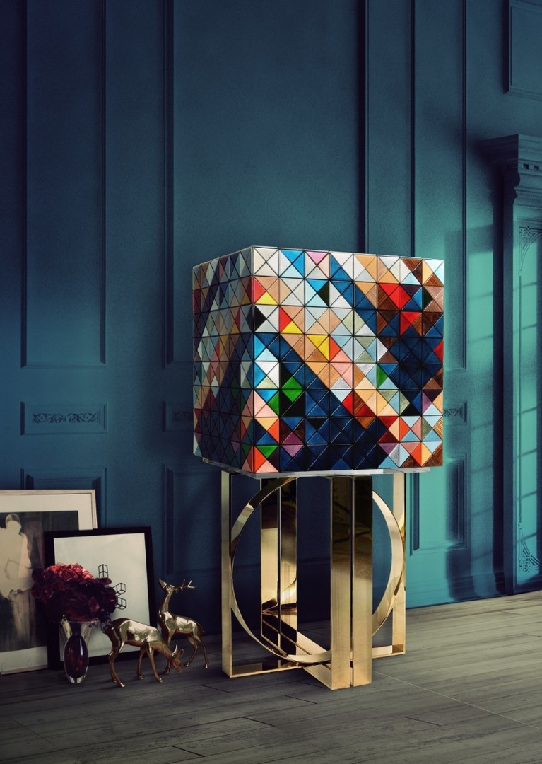 Pixel Cabinet: A Statement Design Reveals A Playful Side By Boca do Lobo