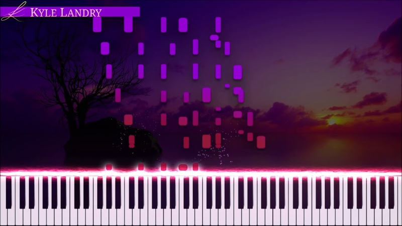 Kyle Landry - Howls Moving Castle 2.0 Synthesia - Piano )