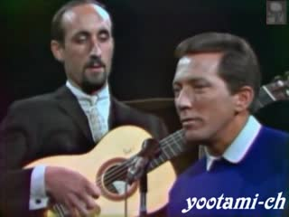 Andy Williams with Peter, Paul and Mary - Dont Think Twice, Its All Right