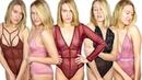 SEXY LINGERIE TRY ON HAUL | SHE TRIES | Katt Tries FASHION NOVA LINGERIE