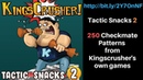 Kingscrushers Tactic Snacks 2 250 Checkmate puzzles! Course link bit.ly/2Y7OnNF