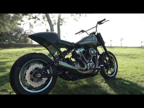 HD115 Competition Build Pop's Garage Fabrication Harley Davidson