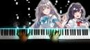 [Irozuku Sekai no Ashita kara OP] 17 Sai - Haruka to Miyuki (Piano)