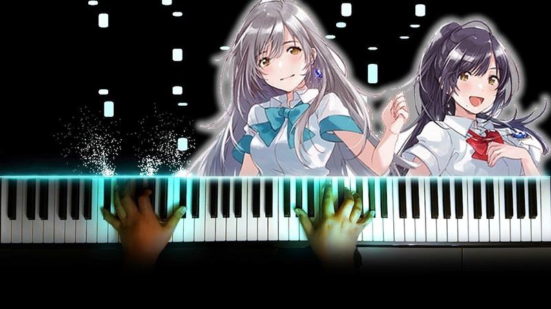 Irozuku Sekai no Ashita kara OP 17 Sai Haruka to Miyuki Piano