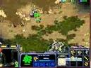 SC BW FPVOD Yoda Dewalt 2x2 Game 04 TZ vs ZP Starcraft Brood War Stream Cut 2014