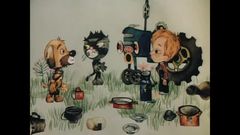 2. Дядя Федор Пес и Кот ( Митя и Мурка) (1976) - реж. Юрий Клепацкий, Лидия Сурикова