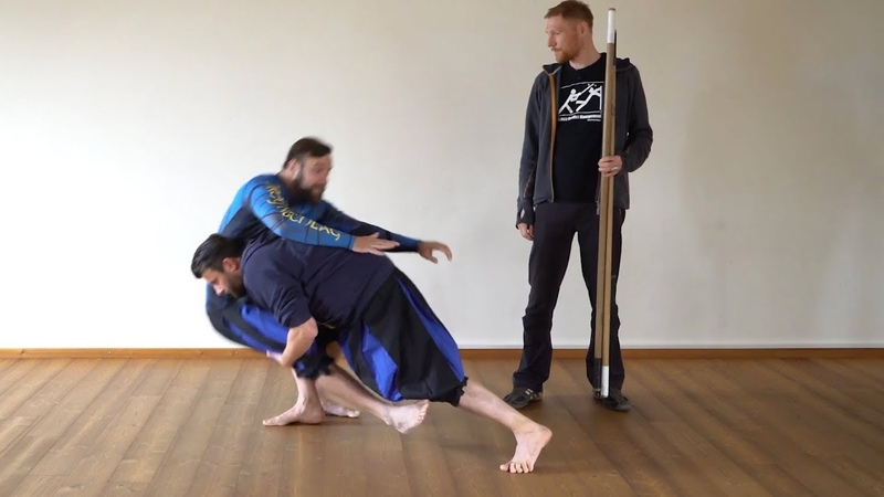 How To Fight With The Quarterstaff 10 – Counter With Takedown