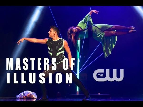 Magician R J Cantu Masters of Illusion The CW Suspension Illusion