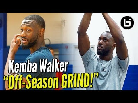 Kemba Walker How to Get ALL STAR BUCKETS OFF SEASON GRIND w Ty Patterson