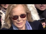 EXCLUSIVE Sylvie Vartan coming out of RTL radio station in Paris