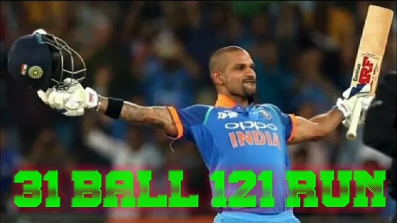 Sikhar Dhawan 31 Ball 121 Run England vs India Trent Bridge 2019 Wcc2 Game Real Cricket