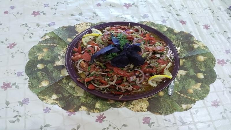 ՄՍՈՎ ԲԱՆՋԱՐԵՂԵՆՈՎ ԱՂՑԱՆ-Мясной Салат-Meat Salad