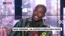 Nick Conrad de Son Vrai Nom Moukouri Manga Qui Veut Brûler La France, Devant Des Journalistes