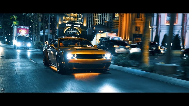 Dodge Challenger HELLCAT Showtime | TroyBoi - Do You (Bass Boosted) 2018