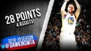 Klay Thompson Full Highlights 2019.03.19 Warriors vs TWolves - 28 Pts, 4 Assists! | FreeDawkins