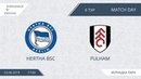 AFL19 EuroLeague ZAO CAO Division B Day 6 Hertha BSC Fulham