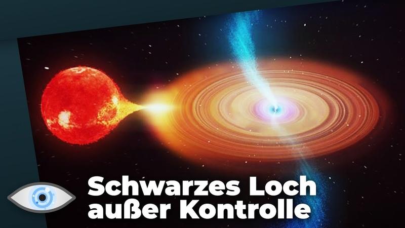Mysteriöses Spektakel: Schwarzes Loch außer Kontrolle geraten?!