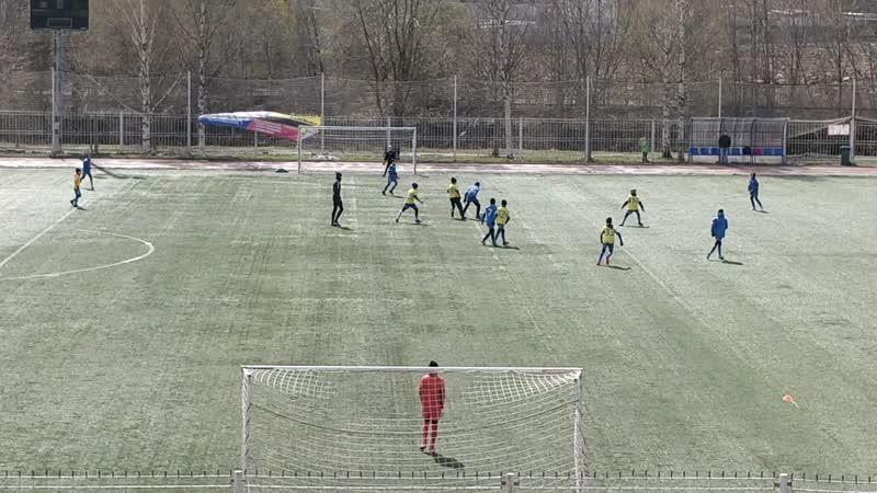 Синие - Желтые (2 тайм)