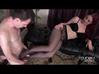 Jessica ryan - pantyhose foot fucker