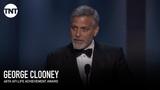 George Clooney Accepts the AFI Life Achievement Award AFI 2018 TNT