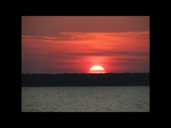 Sunset during the equinox.SOUNDS OF AUTHOR. Закат на равноденствие.