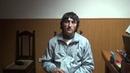 Сотрудники ФСБ допрашивают боевика ( Арсен Талибов, взорвался 15.02.2016 ) из Дагестана