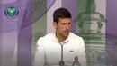 Novak Djokovic Quarter-Final Press Conference Wimbledon 2019