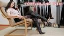 Christina's high heels Gianmarco Lorenzi boots April 26 2018