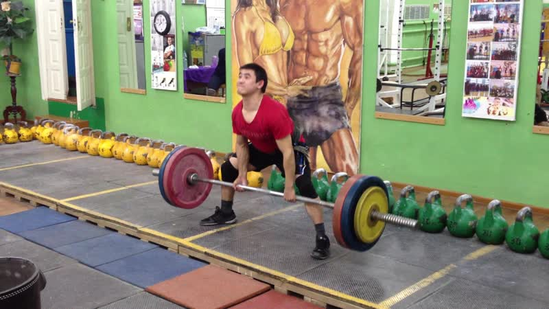 Алимгулов тяга 130 на 2р 4 п. вес 52 кг