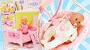 Новая кроватка Беби Бон для куклы Беби Анабель. Видео для девочек Как мама