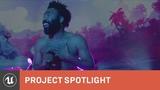 Childish Gambino Creates a Fantasy World for Pharos Project Spotlight Unreal Engine