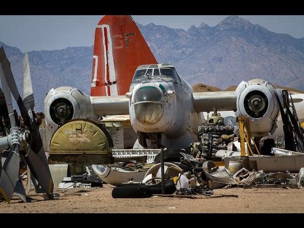 Кладбище самолетов, штат Аризона, США