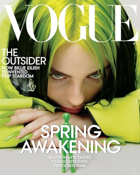 Триумфатор «Грэмми» и автор песни к новому «Бонду» Билли Айлиш в объективе Vogue Итан Джеймс Грин